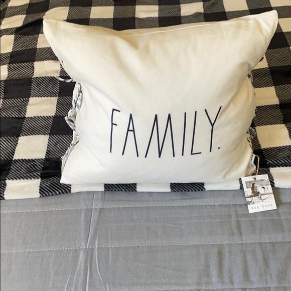 Rae Dunn Throw Pillow